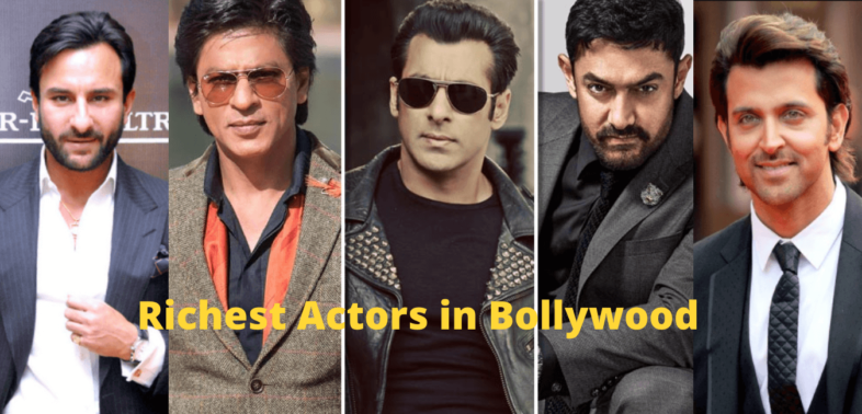 Who is the richest actor in the Bollywood industry